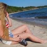 Jack Daniels Beach Babe